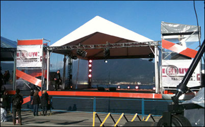 Amazing Stages Tent Rentals Amp Stage Rentals In Vancouver Bc